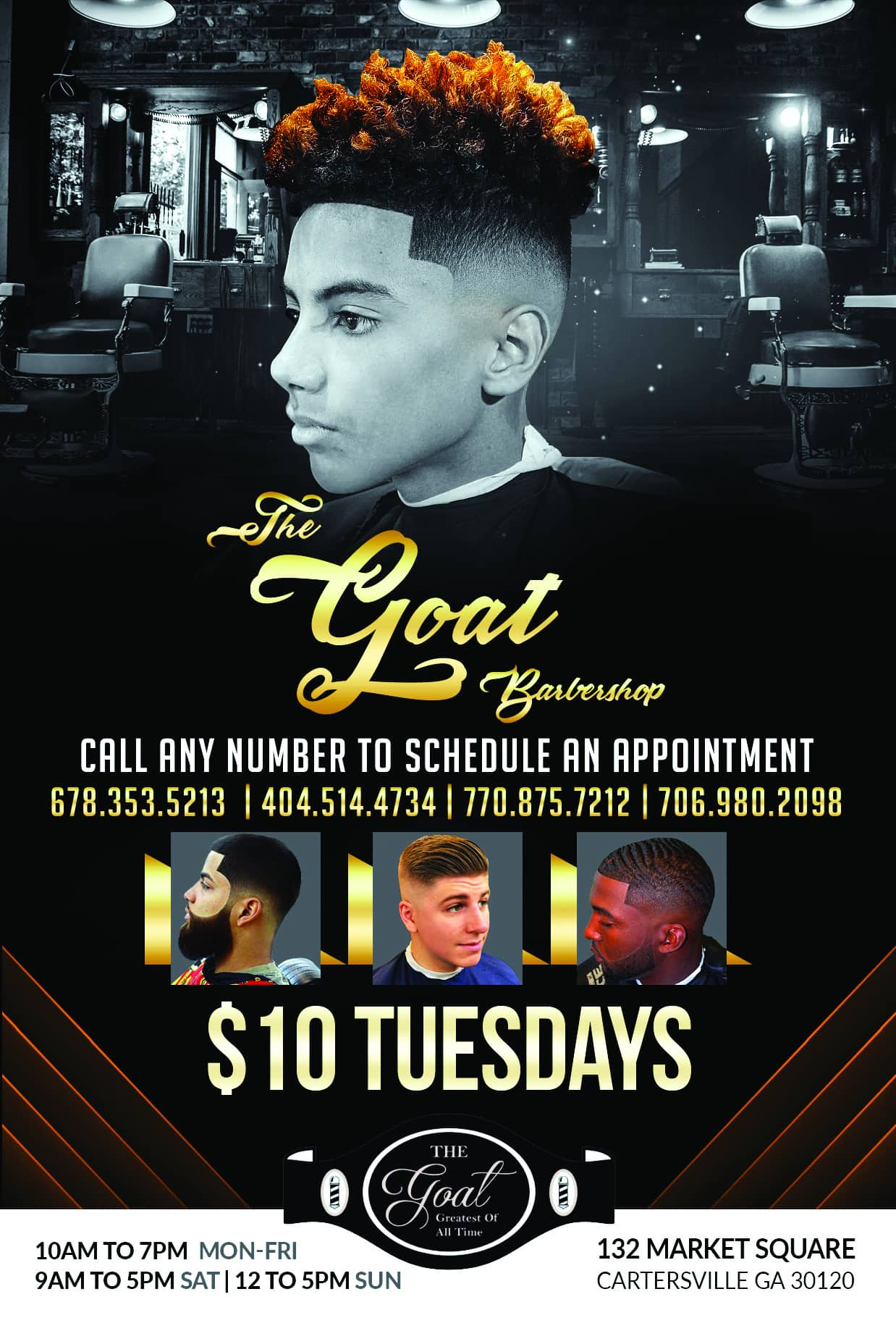 barbershop-accolademedia-flyer-design